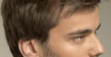 cortes de pelo para hombres frentones 1