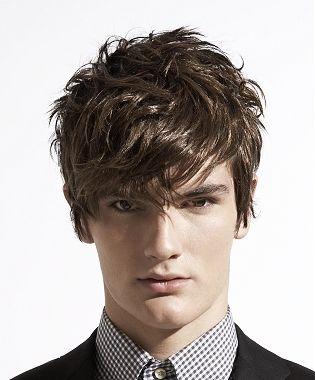 Cortes de cabello para hombres con pelo quebrado 1