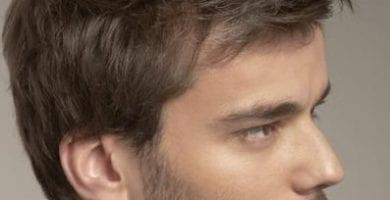 15 opciones de cortes de pelo para hombres de nariz grande 1