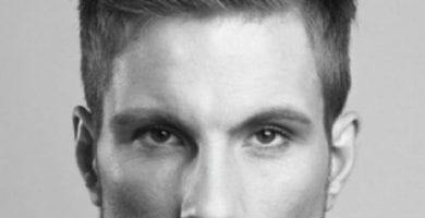 12 Opciones de cortes de cabello para hombres orejones 1