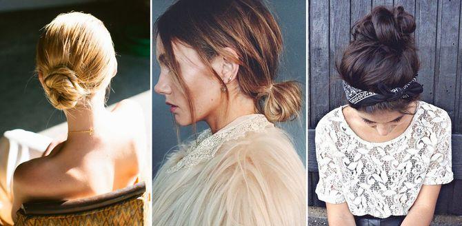 Moños: muchas ideas para la colección de peinados más fascinante