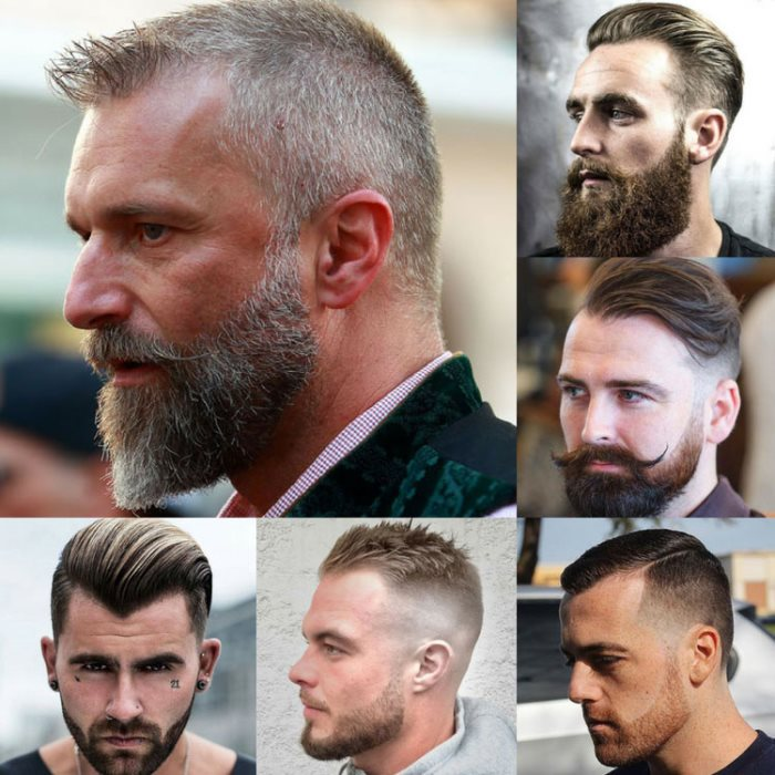 El corte de pelo adecuado para los hombres basado en la forma de la cara
